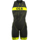 Alé Cycling Triathlon Long Record Miehet Front Zipper , keltainen/musta
